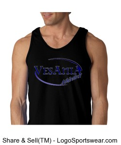 Vesania Athletics Men's Blank Tank Design Zoom