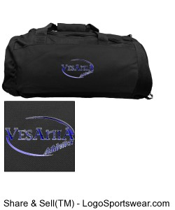 Vesania Athletics Gym Bag Design Zoom