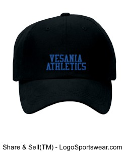 Vesania Athletics Flex Fit Hat Design Zoom