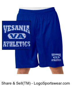 Vesania Athletics Mesh Shorts. Design Zoom